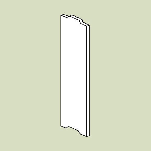 Side til reol 2 - d20 h103