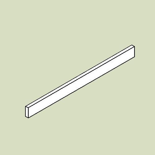 Sokkelliste - h6,5 b78